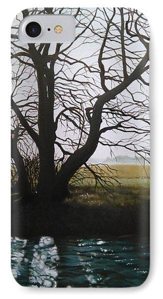 Trent Side Tree. IPhone Case
