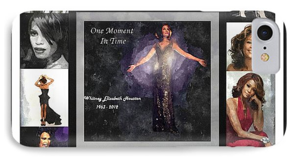 Tribute Whitney Houston One Moment In Time IPhone Case