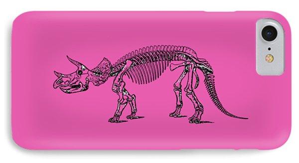Triceratops Dinosaur Tee IPhone Case