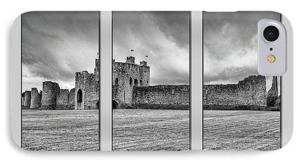 Trim Castle Triptych  IPhone Case