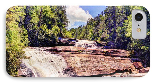 Triple Falls - Dupont Forest IPhone Case