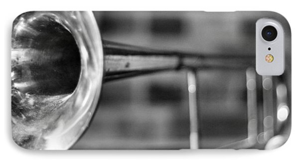 Trombone iPhone 8 Case - Trombone by David  Hubbs