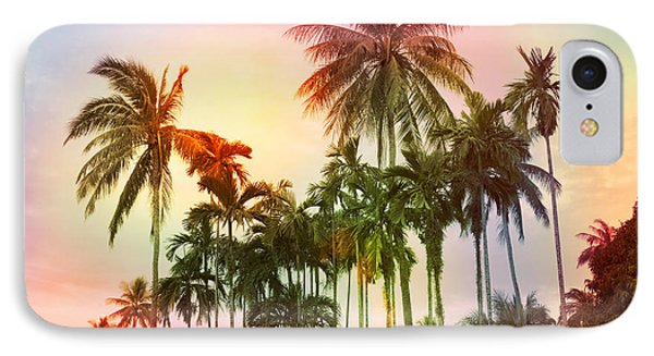 Shapes iPhone 8 Case - Tropical 11 by Mark Ashkenazi