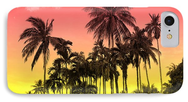 Shapes iPhone 8 Case - Tropical 9 by Mark Ashkenazi