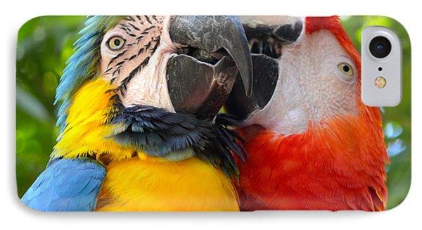 Tropical Kisses IPhone Case