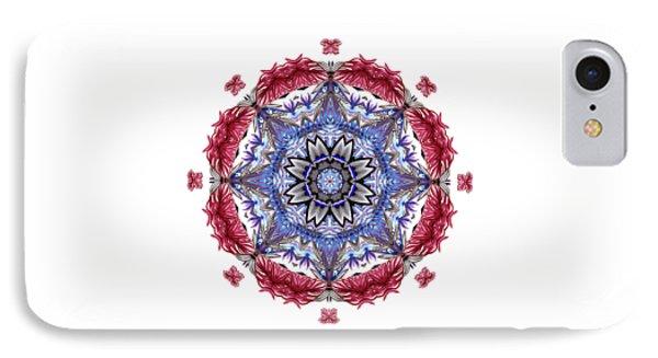 IPhone Case featuring the digital art Tropical Mandala By Kaye Menner by Kaye Menner