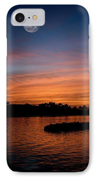 Tropical Moon IPhone Case