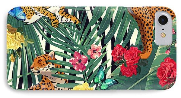 Tropical Wild  IPhone Case