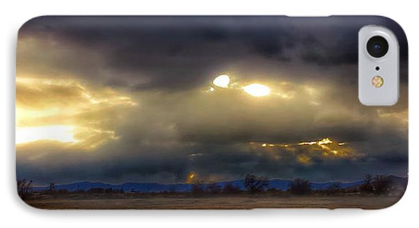 Troubled Skies Over Idaho IPhone Case