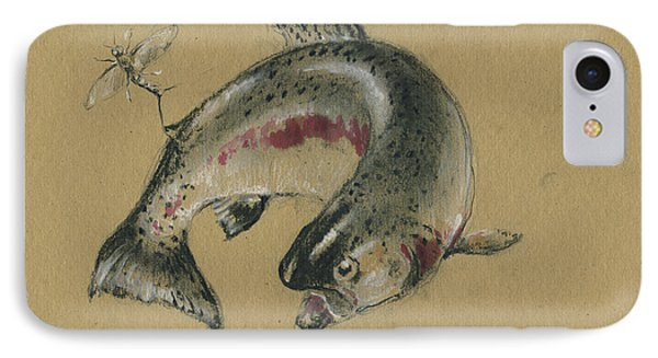 Trout Eating IPhone Case