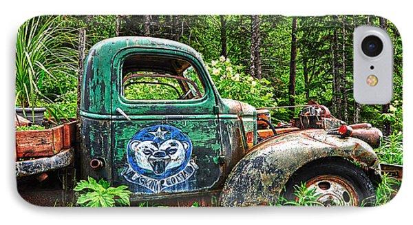 Truck Planter Crow Creek IPhone Case