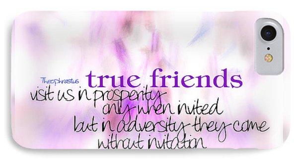 True Friends IPhone Case
