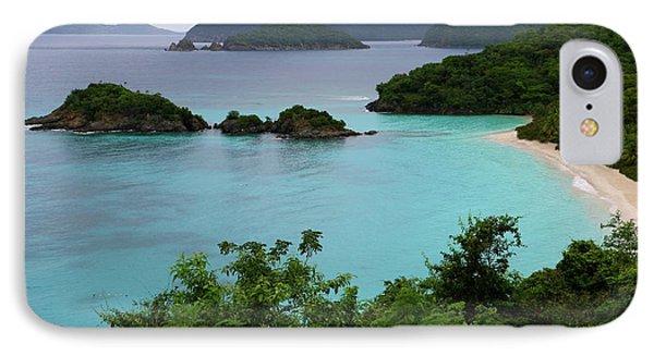 Trunk Bay At U.s. Virgin Islands National Park IPhone Case