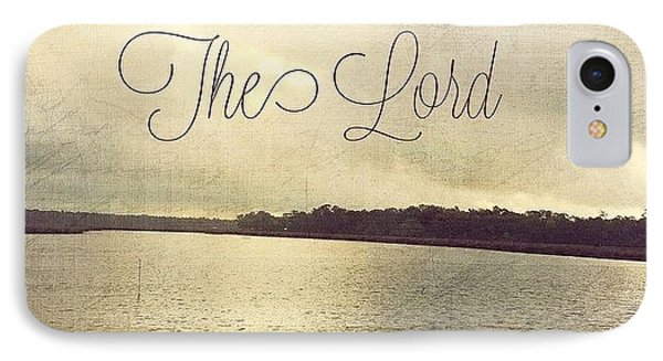 Trust In The Lord #trust #inspirational IPhone Case