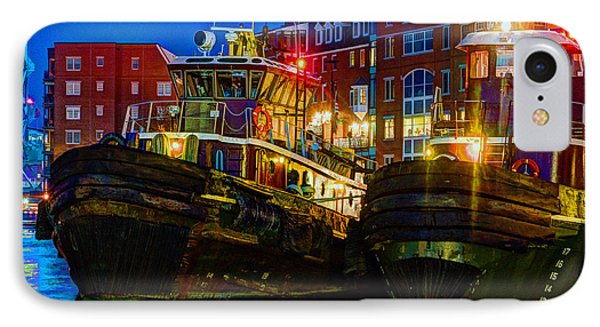 Tug Boat Alley 026 IPhone Case