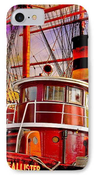 Tugboat Helen Mcallister IPhone Case