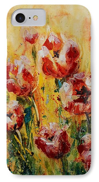 Tulip Waltz IPhone Case