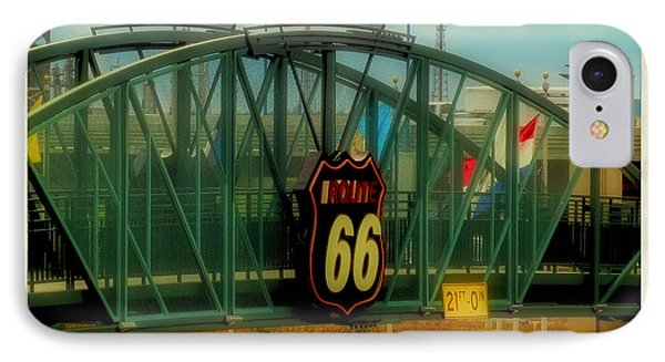 Tulsa Route 66 Sign IPhone Case