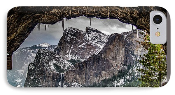 Tunnel View From The Tunnel IPhone Case