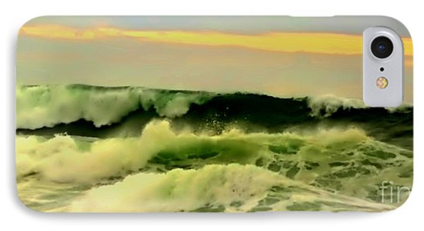 Turbulent Ocean Swell IPhone Case