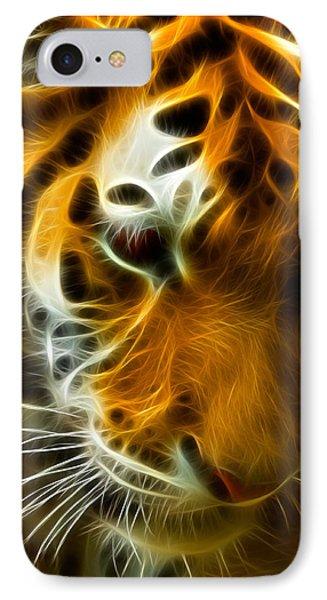 Turbulent Tiger IPhone Case