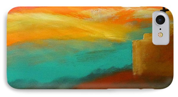 Turquoise Trail Sunset IPhone Case