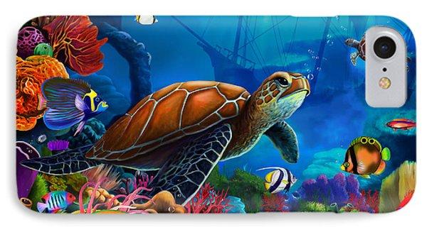 Turtle Domain IPhone Case