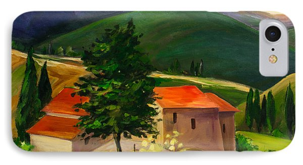 Tuscan Hills IPhone Case