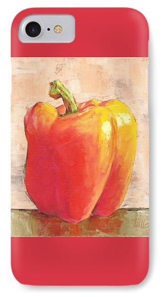 Tuscan Orange Pepper IPhone Case