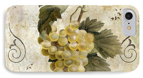 Tuscan Table Blanc Wine IPhone Case