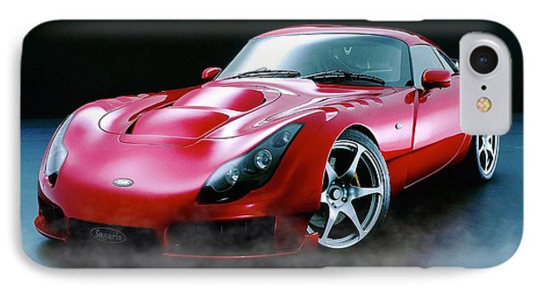 Tvr Evaporating Water IPhone Case