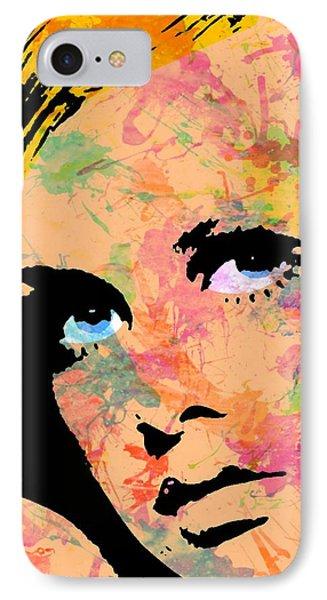 Twiggy-3 Three IPhone Case