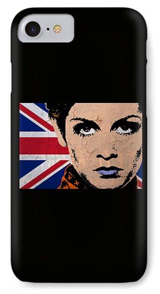 Twiggy-uk Pop IPhone Case
