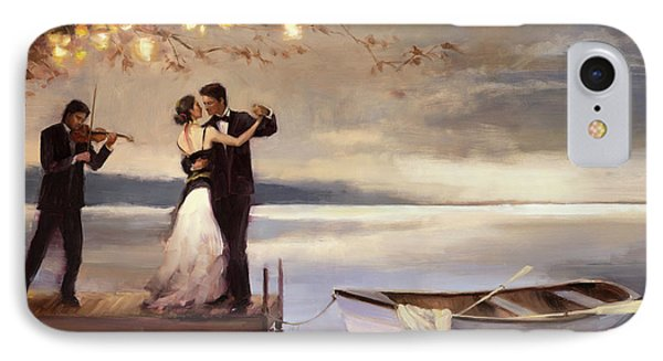 Impressionism iPhone 8 Case - Twilight Romance by Steve Henderson