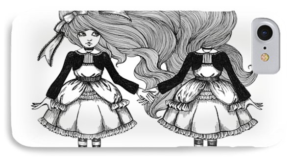 Twins Alice IPhone Case