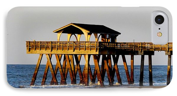 Tybee Pier IPhone Case