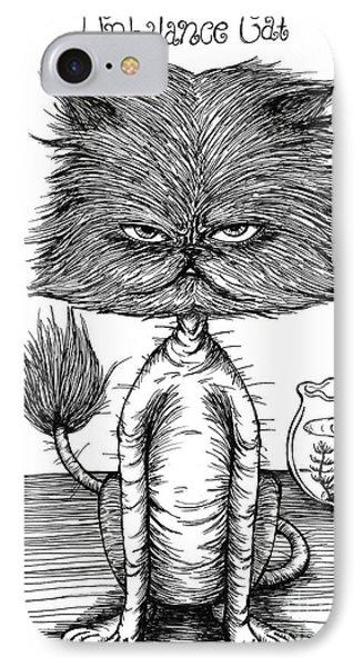 Unbalance Cat IPhone Case