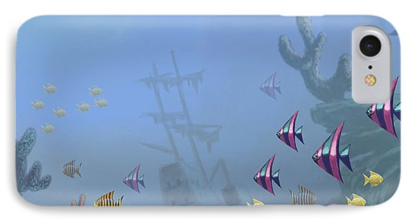 Under Sea 01 IPhone Case