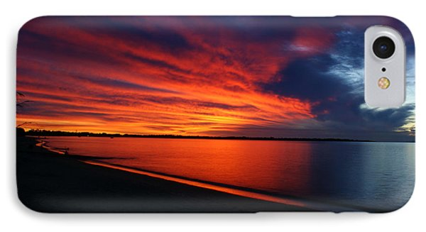 Under The Blood Red Sky IPhone Case