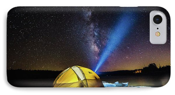 Under The Stars IPhone Case