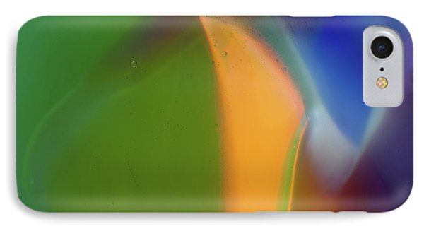 Underwater Fantasies Abstract Glass Photography By Omashte IPhone Case