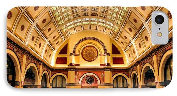 Union Station Balcony IPhone Case