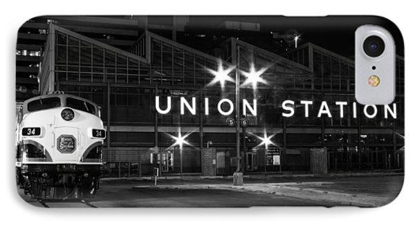 Union Station Night Glow IPhone Case