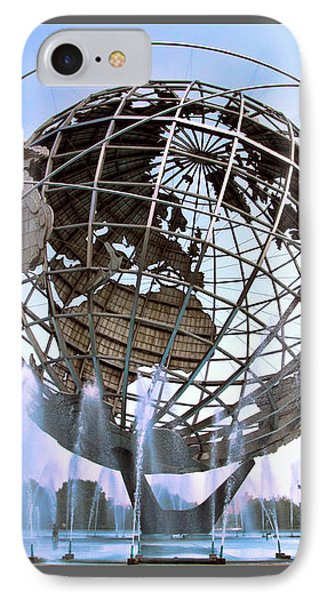 Unisphere With Fountains IPhone Case