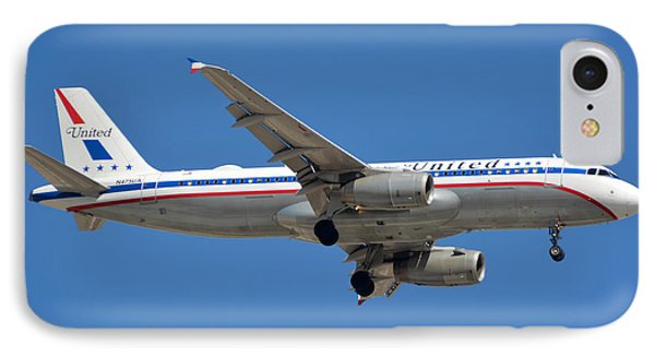 United Airlines Airbus A320 Friend Ship N475ua Sky Harbor March 24 2015 IPhone Case