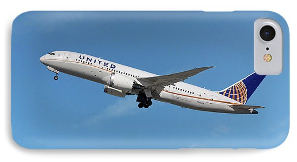 United Airlines Boeing 787-8 Dreamliner IPhone Case