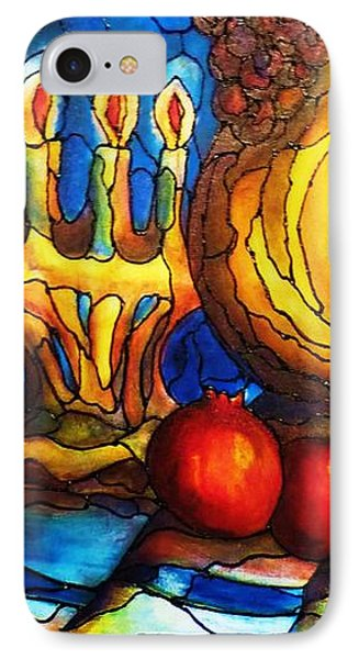 Still Life With Grapes And Pomegranates IPhone Case
