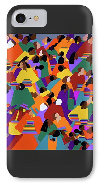 iPhone 8 Case - Uptown by Synthia SAINT JAMES