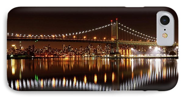 Urban Night Reflection IPhone Case