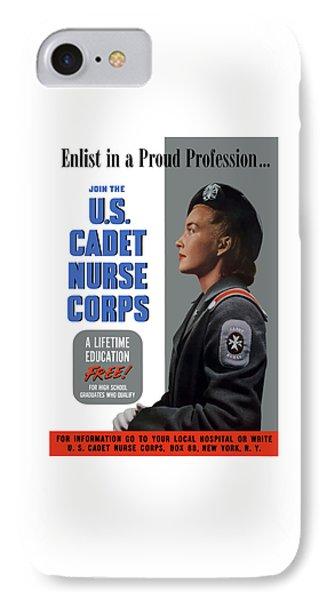 Us Cadet Nurse Corps - Ww2 IPhone Case